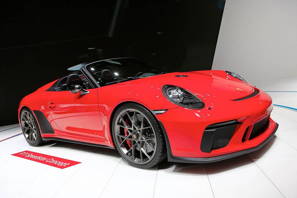 قیمت و مشخصات پورشه 911 اسپیدستر اعلام شد